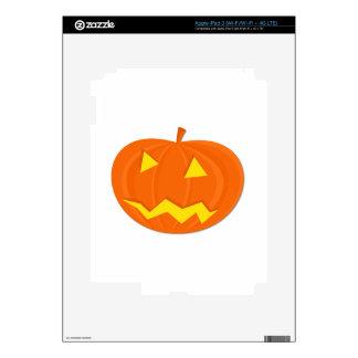 Halloween Jack-o-Lantern iPad 3 Skin