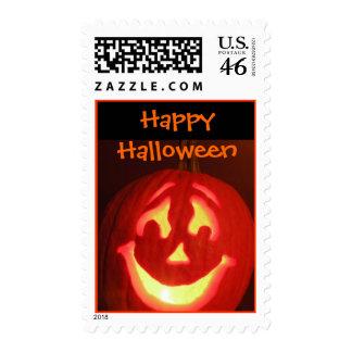 Halloween Jack-O-Lantern Stamps
