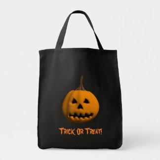 Halloween: Jack-O-Lantern: Trick or Treat Bag