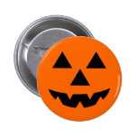 Halloween Jack-O-Lantern Trick or Treat 2 Inch Round Button
