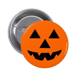 Halloween Jack-O-Lantern Trick or Treat Pinback Button