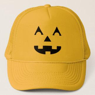 Halloween Jack O Lantern Trucker Hat