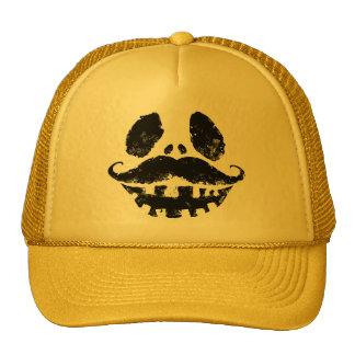 Halloween Jack-o-lantern with mustache Trucker Hat