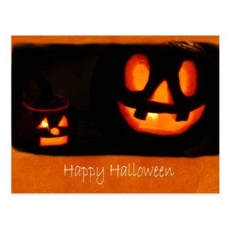 Halloween Jack-o-lanterns 2 - Happy Halloween Postcards