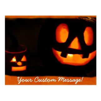 Halloween Jack-o-lanterns 2 Post Card