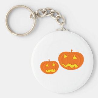Halloween Jack-O-Lanterns Keychain