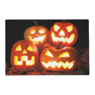Halloween Jack O Lanterns Placemat