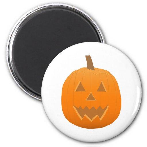 Halloween: Jack-O-Linterna: Calabaza: Imán Para Frigorífico