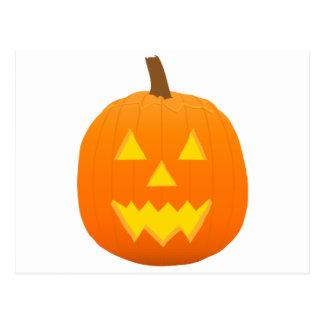 Halloween: Jack-O-Linterna: Calabaza: Tarjetas Postales