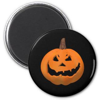 Halloween: Jack-O-Linterna malvada: Imán del refri
