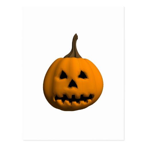 Halloween: Jack-o-Linterna: Tarjeta Postal
