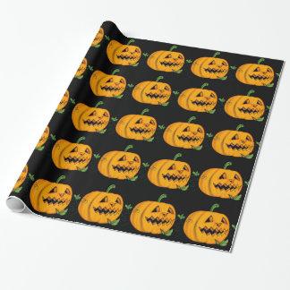 Halloween Jack o'Lantern Wrapping Paper
