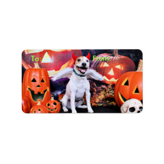 Halloween - Jack Russell - Bailey Labels