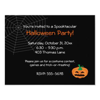 Halloween Jackolantern Party Invitation