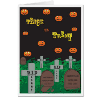 Halloween Joke Cards