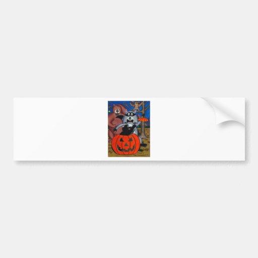 Halloween Jolt Bumper Sticker
