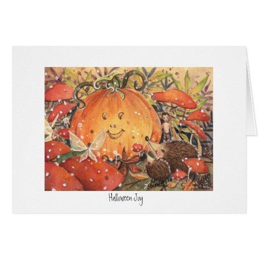 """Halloween Joy"" Card"