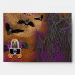 Halloween - Just a Lil Spooky - Afghan Envelope