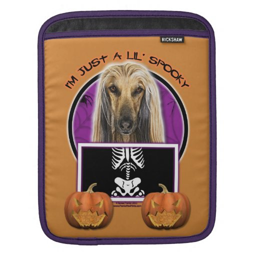 Halloween - Just a Lil Spooky - Afghan Sleeve For iPads
