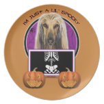 Halloween - Just a Lil Spooky - Afghan Dinner Plates