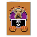 Halloween - Just a Lil Spooky - Airedale Cards