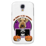 Halloween - Just a Lil Spooky - Airedale Galaxy S4 Covers