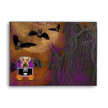 Halloween - Just a Lil Spooky - Airedale Envelopes