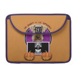 Halloween - Just a Lil Spooky - Airedale Sleeves For MacBook Pro