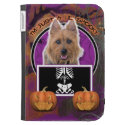 Halloween - Just a Lil Spooky - Australian Terrier Kindle Folio Cases