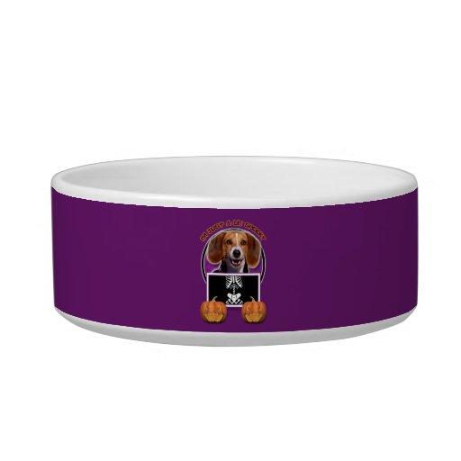 Halloween - Just a Lil Spooky - Beagle Cat Bowl