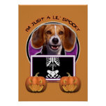 Halloween - Just a Lil Spooky - Beagle Posters