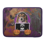 Halloween - Just a Lil Spooky - Beagle Puppy MacBook Pro Sleeve