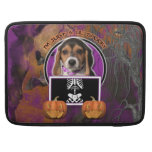 Halloween - Just a Lil Spooky - Beagle Puppy Sleeves For MacBook Pro