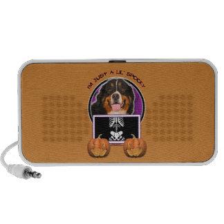 Halloween -Just a Lil Spooky -Bernese Mountain Dog Portable Speaker