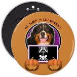 Halloween - Just a Lil Spooky - Bernie Pinback Button