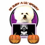 Halloween - Just a Lil Spooky - Bichon Frise Photo Cutouts