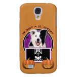 Halloween - Just a Lil Spooky - Border Collie Galaxy S4 Covers