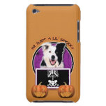 Halloween - Just a Lil Spooky - Border Collie iPod Touch Cases