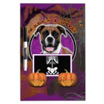 Halloween - Just a Lil Spooky - Boxer - Vindy Dry Erase Whiteboard