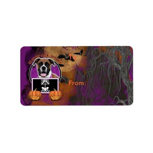Halloween - Just a Lil Spooky - Boxer - Vindy Label