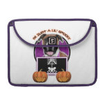 Halloween - Just a Lil Spooky - Boxer - Vindy MacBook Pro Sleeves