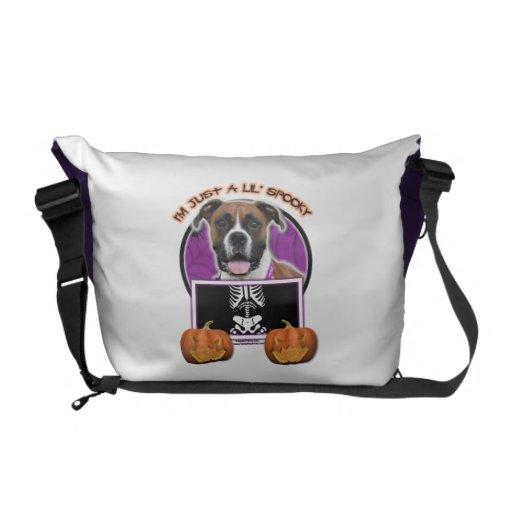 Halloween - Just a Lil Spooky - Boxer - Vindy Commuter Bags