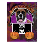 Halloween - Just a Lil Spooky - Boxer - Vindy Postcard