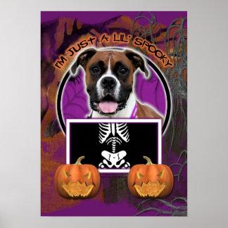Halloween - Just a Lil Spooky - Boxer - Vindy Print
