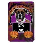 Halloween - Just a Lil Spooky - Boxer - Vindy Vinyl Magnets