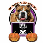 Halloween - Just a Lil Spooky - Bulldog Photo Cut Outs