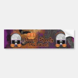 Halloween - Just a Lil Spooky Bumper Sticker