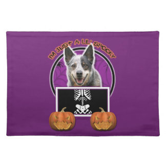 Halloween - Just a Lil Spooky - Cattle Dog Placemat