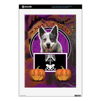 Halloween - Just a Lil Spooky - Cattle Dog Skin For The PS3 Console