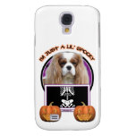 Halloween - Just a Lil Spooky - Cavalier -Blenheim Samsung Galaxy S4 Cover